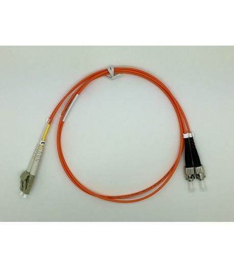 Bretella ottica LC/ST duplex MM 62,5/125 OM1