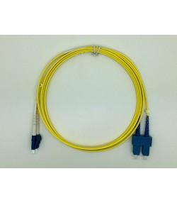 Bretella ottica LC/SC duplex SM 9/125
