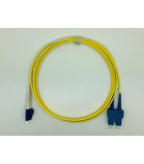 Bretella ottica LC/SC duplex SM 9/125 OM2