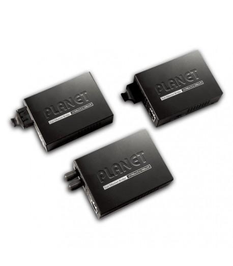 Media converter MM RJ45-SC SM 10/100 Mbps