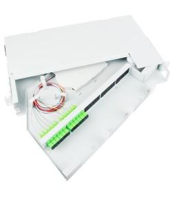 Cassetto ottico di distribuzione con apertura rotante a 90°