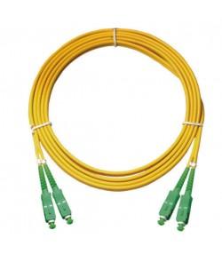 Bretella ottica SC/APC-SC/APC duplex SM 9/125