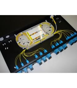 """Cassetto ottico di distribuzione per rack 19"""""""