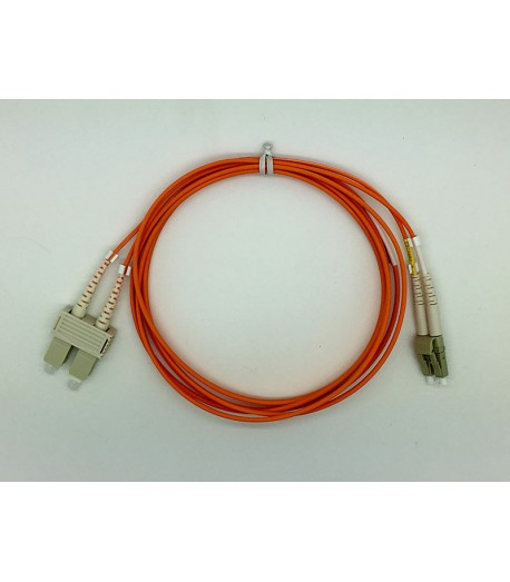 Bretella ottica LC/SC duplex MM 50/125 OM2